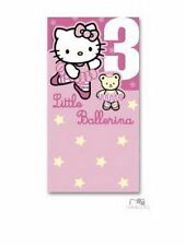Hello Kitty - Birthday Card FOR Age 3