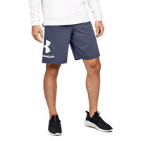 Under Armour Mens Sportstyle Graphic Shorts Pants Trousers Bottoms - Blue Sports