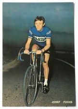 Cartolina Ciclismo - Filotex - Josef Fuchs