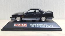 1/72 Real-X NISSAN SKYLINE GTS-R SPORTS COUPE R31 BLACK diecast car model