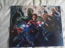 Age of Ultron Robert Downey Jr. & Chris Evans Autographed 8 X 10 photo with COA