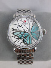 NEW Michele Garden Party CSX Topaz Butterfly Limited Edition Watch MW05D25A1997