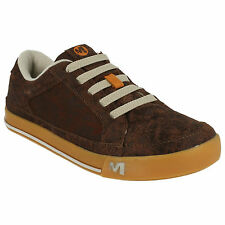 BOYS KIDS MERRELL SKY JUMBER BRASH LEATHER CASUAL TRAINERS SHOES