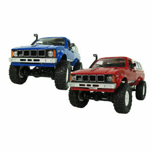 WPL C24-R RC Car, 4WD Rock Climbing, Crawler - 1/16 Scale Offroading Hilux - UK