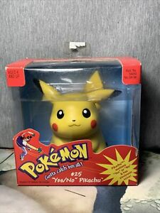 1999 Pokemon Hasbro Sealed Yes/No Pikachu #25