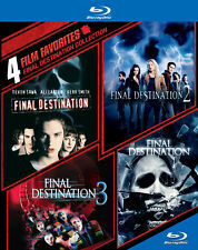 Blu Ray FINAL DESTINATION 1, 2, 3 & 4 movies collection set. UK compatible. New.