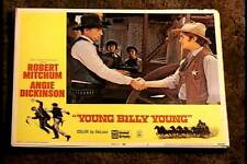YOUNG BILLY YOUNG 1969 LOBBY CARD #5 ROBERT MITCHUM