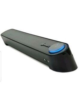 GOgroove USB Computer Speakers Mini Soundbar - SonaVERSE UBR Desktop Bar With