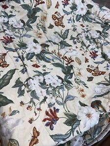 Waverly Garden Images WILLIAMSBURG MAGNOLIA Reversible Queen Comforter
