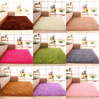 Fluffy Rugs Anti-Slip SHAGGY RUG Super Soft Carpet Mat Living Room Floor Bedroom
