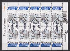 NVPH Nederland V 2570 sheet blok used Europazegel de brief NVPH 2008 Netherlands