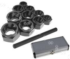 (9-19mm) Damaged Nut Bolt Remover Stud Extractor Locking Socket 11pcs Set