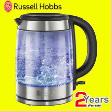 Russell Hobbs 21600 1.7 Litres 3kW Illuminating Glass Cordless Jug Kettle