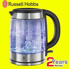 Russell Hobbs 21600 1,7 LITRI 3KW illuminante Vetro Cordless Brocca Bollitore