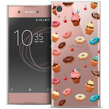 """Coque Crystal Gel Pour Sony Xperia XA1 Ultra (6"""") Extra Fine Souple Foodie Donut"""
