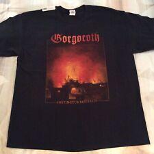 GORGOROTH Instinctus Bestialis Shirt XL,Azarath, The Chasm, Urgehal,Urfaust,Absu
