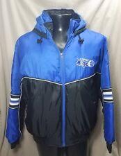 Vintage Orlando Magic Fans Gear Winter Hooded Jacket Coat Large