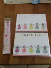 Phoenix trading GIRLS PARTY INVITES & thank you cards
