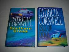2 x Books Southern Cross and Isle of Dogs By Patricia Cornwell Book.