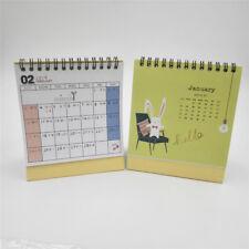 1 pc 2018-2019 17-Months Desk Calendar Table Calendar Schedul School giraffe