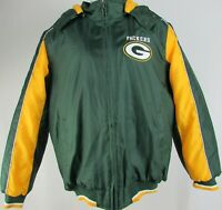 Green Bay Packers NFL Men's Green Mid-Weight Full-Zip Coat