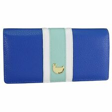 Buxton Prepster Expandable Clutch - Strong Blue - Women's Wallets