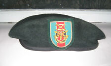 Special Forces Association Flash Beret Wool Green XXXL Maybe 1960s Kingform Co