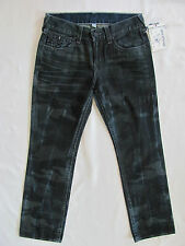 True Religion Straight w/ Flaps Jeans - Laser Resilient Camo -Size 32 - NWT $268