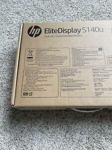 New Sealed In Box HP ELiteDisplay G8R65A8#ABA 14-Inch Screen LED-Lit Monitor