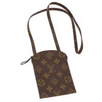 LOUIS VUITTON POCHETTE SECRET SHOULDER BAG POUCH MONOGRAM M45484 8902AN R11700