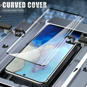 5D Genuine Tempered Glass Screen Protector For Samsung Galaxy S10 PLUS S20 ULTRA