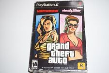 Grand Theft Auto Double Pack Liberty Vice City Stories Playstation 2 ps2 Cib