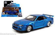 Véhicules miniatures bleus Fast & Furious