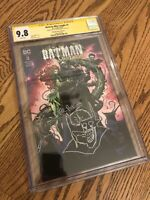 Batman Who Laughs 3 Unknown Comics A CGC SS 9.8 Mike Perkins Sketch!