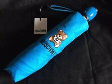 Umbrella MOSCHINO Bright Blue Teddy Bear Toy  Openclose 8350