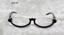 1/3 1/4 BJD SD 60cm 45 eye glasses eyeglasses Dollfie black frames clear lens 09