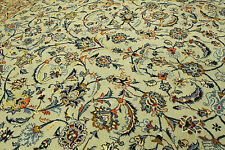 Orientteppich echter handgeknüpfter Perserteppich (400x305) Pistazien Grün Nr.92