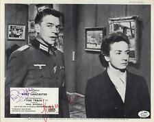 THE TRAIN signed PAUL SCOFIELD & JEAN MOREAU - it carried their hopes!
