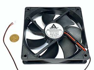 GDSTIME Computer Case fan Large 12V 2Pin 120mm 25mm gda blower 1225 12025 G20