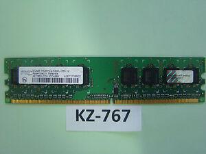 Aeneon AET660UD00-30DA98X '512 MB DDR2-RAM 1Rx8 PC2-5300U CL5' #Kz-767