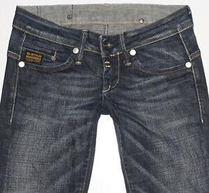 G-Star Damen Jeans MIDGE STRAIGHT WMN W26 L32 blau gstar