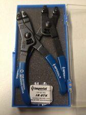 Retaining Ring Plier Kit Internal and External, Imperial ~ IR44K SAE (USA MADE)