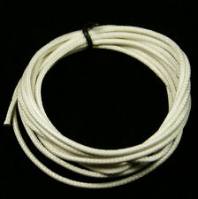 Vintage Style Single Conductor Guitar Wire  6-Foot 24 AWG White