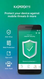 KASPERSKY INTERNET SECURITY 2021 FOR ANDROID - 1 DEVICE MOBILE TABLET - Download