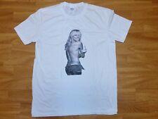"Neues Cooles T-Shirt Clubwear "" BAD GIRL FUCK "" Gr M Weiß NEU/OVP"