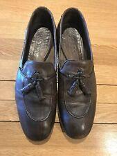 Prada, Mens Leather Shoes, UK 11, Brown