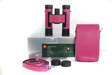 LEICA FERNGLAS ULTRAVID 10X25 Colorline Cherry pink - 40636 * Fotofachhändler *