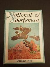 December 1935 National Sportsman Magazine Ringtails Boardman River NY Fly Fishin