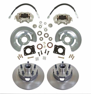 1964.5-1973 Ford Mustang Disc Brake Conversion Kit for Front Wheel Drum to Disc