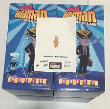 Harvey Birdman Complete 4 Bobbleheads Cartoon Network Adult Swim BNIB
